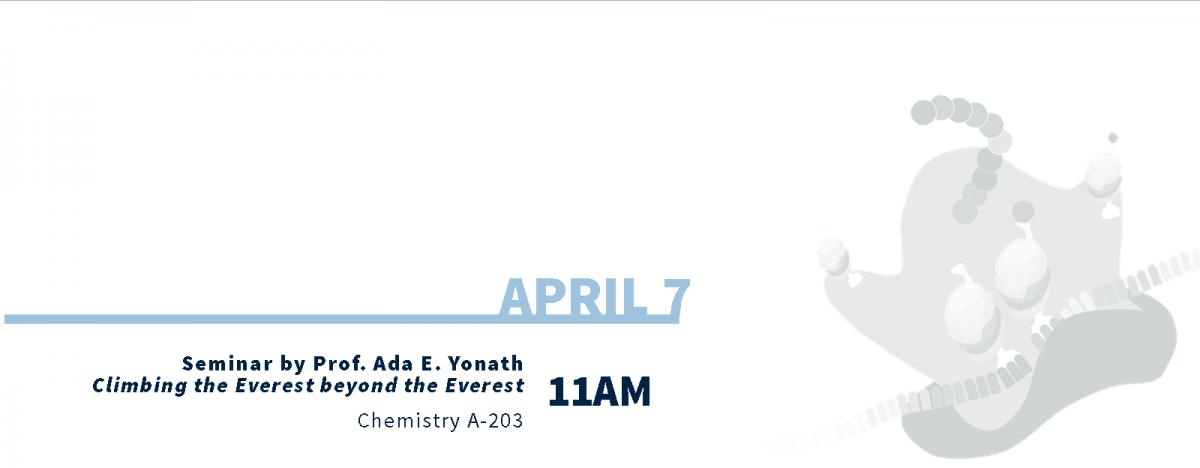 April 7 Schedule